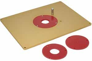 MLCS Aluminum Router Plate