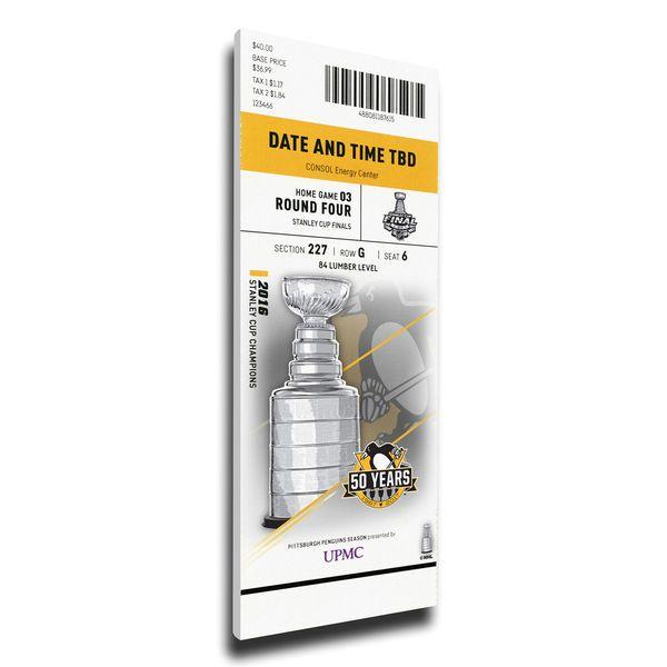 Nashville Predators vs. Pittsburgh Penguins 2017 Stanley Cup Final Game 5 Dueling Small Mega Ticket - $69.99