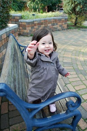 Half Japanese. Cute mixed Asian baby!