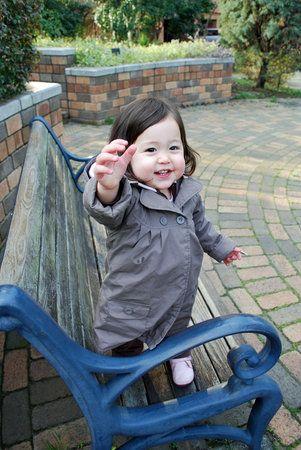 Half Japanese. Cute mixed Asian baby!