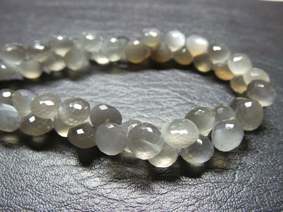 Classy Gorgeous Natural African Multi Moonstone by StarGemBeads