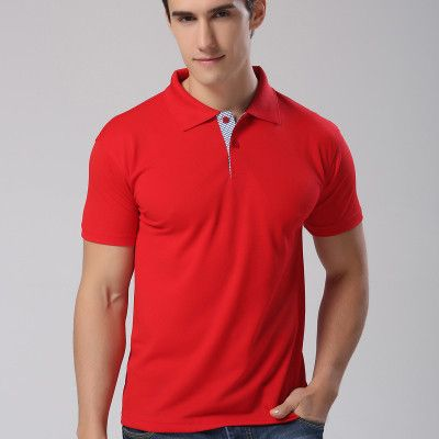 Classic men's short-sleeved POLO shirt Slim fashion Casual polo shirt POLO shirt lapel-known brands of high-quality shirt M-3XL