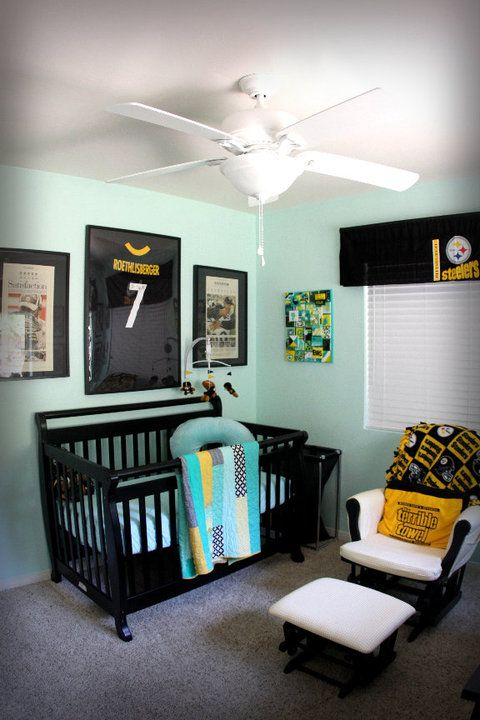 Steelers Bedroom Ideas 9 best nursery for the future :) images on pinterest | baby boy