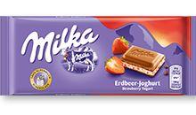 Milka φράουλα γιαούρτι