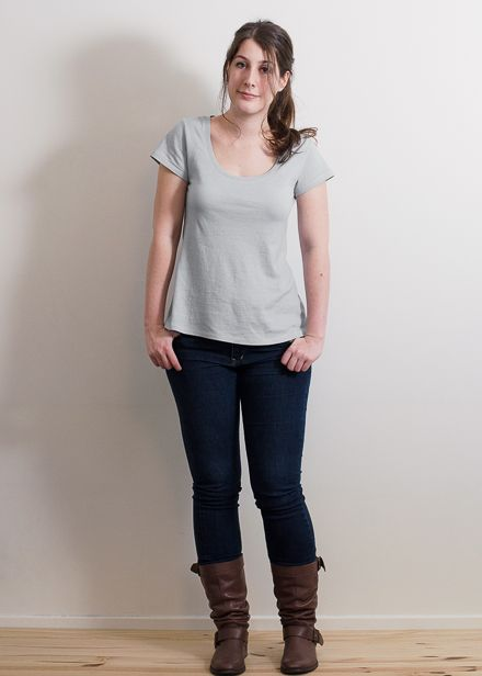 New pattern: the Plantain t-shirt – Deer&Doe • the blog