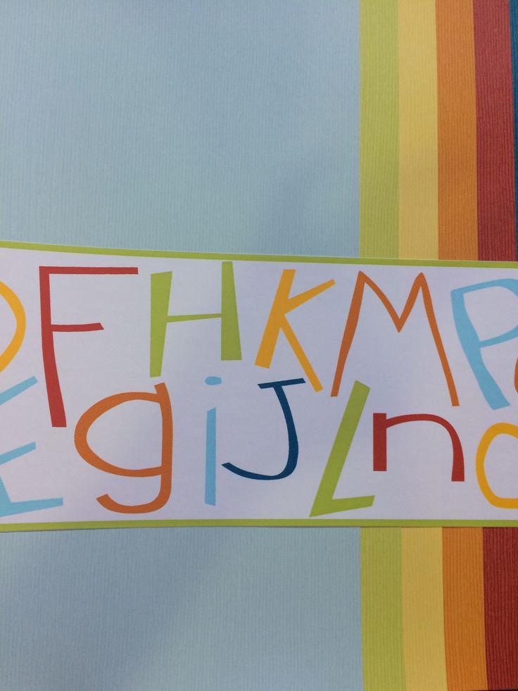¿Te gustan más las letras? Quedan fenomenal en cualquier habitación destinada a los niños.