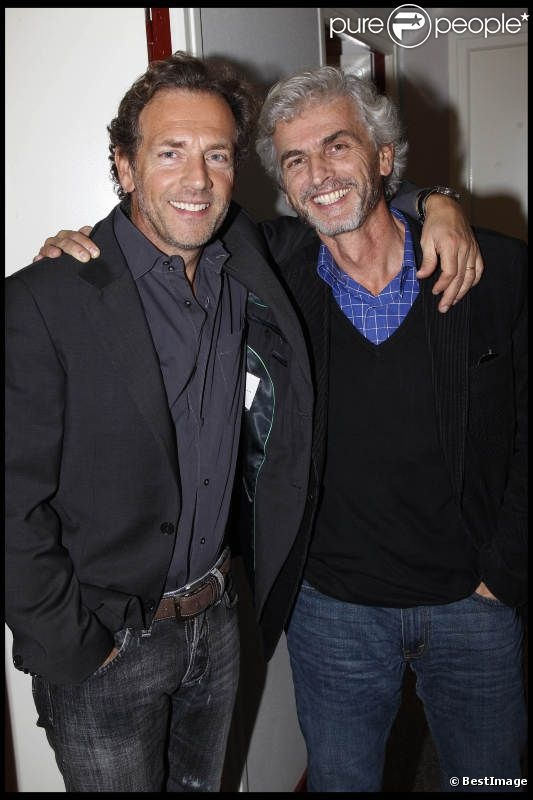 Stéphane Freiss et son frère Jérôme Freiss