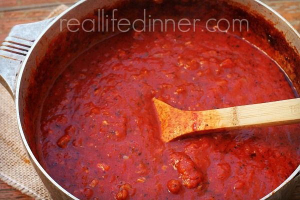 out Amazing Spaghetti Sauce. It's so easy to make! | Spaghetti sauce ...