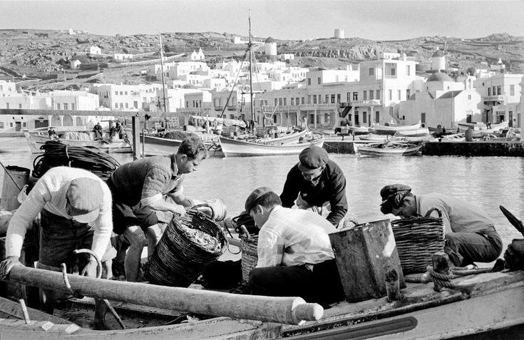 Rene Burri GREECE. Island of Mykonos. 1957