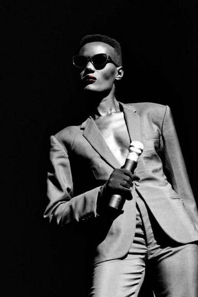 Grace Jones - you can't say fierce without thinking about this lady. She played by her own rules!