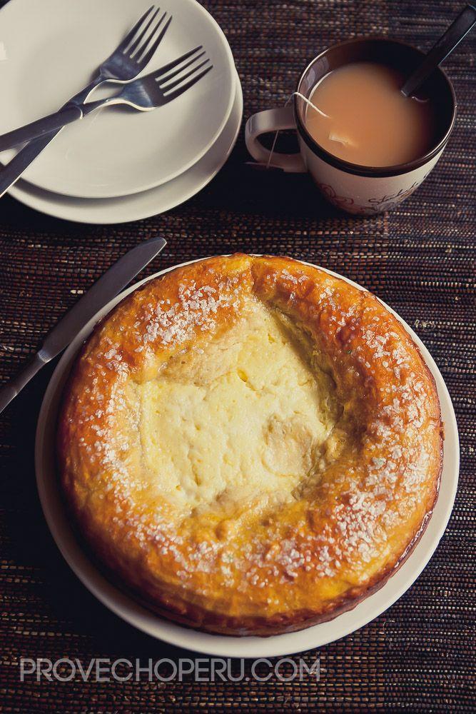 Gâteau à la Crème (Sweet Bread with Creamy Citrus Filling).