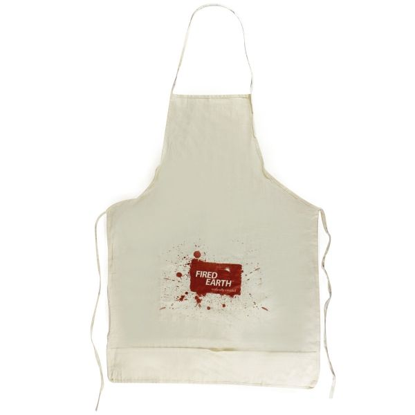 Foodie Cotton Apron Product Size: 550w x 770h  Branding Type: screen print Material: cotton