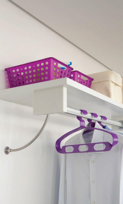 Temos os Cestos Roxos e Cabides! Confira > http://www.cmarceneiro.com.br/marca/coza--loja-virtual