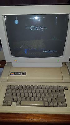Apple IIe Computer  Includes Color Monitor/Disk Drive and extras!