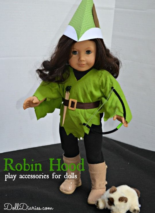 Camp Doll Diaries – Ruthie's Robin Hood Adventure Set
