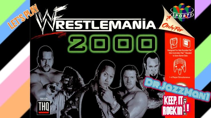 Lets Play WWF WrestleMania 2000