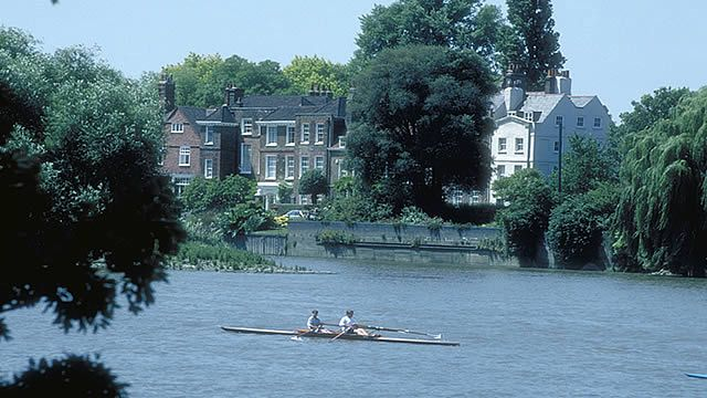 Chiswick, W4 - view of River Thames