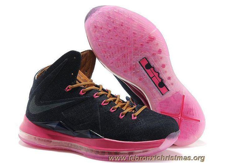 597806-400 Denim-Pink Nike LeBron X EXT QS Sortie