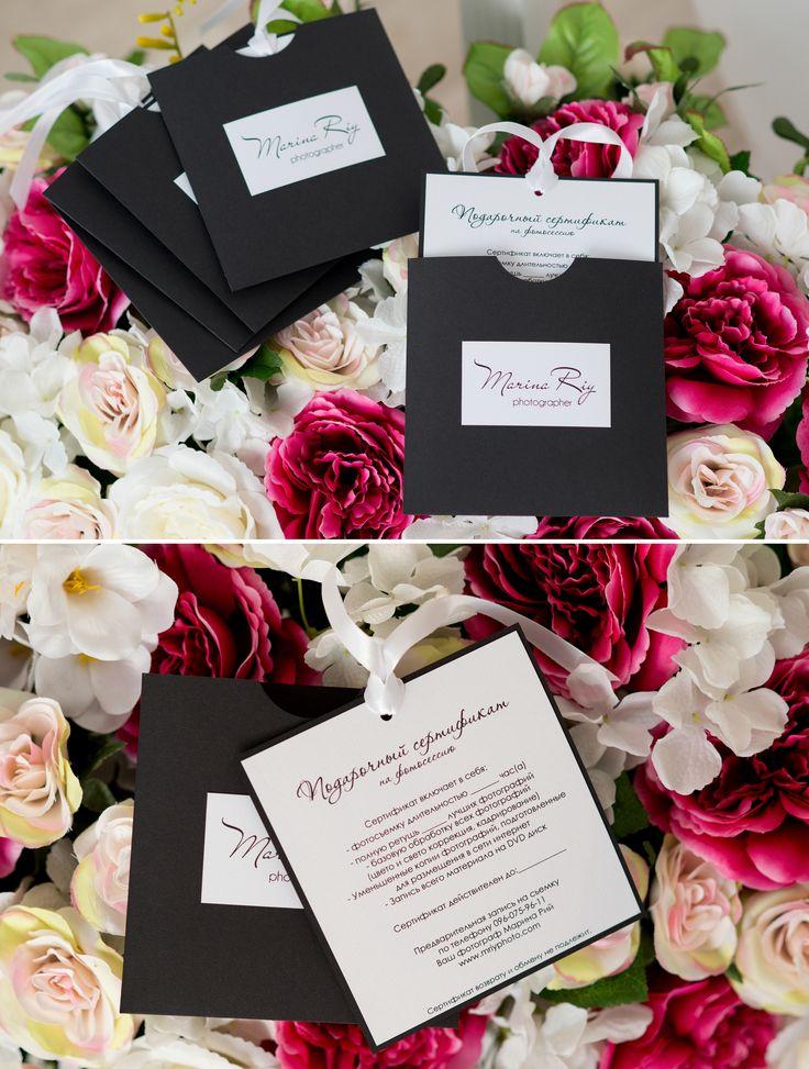 Gift certificate. Production for photographers. Подарочный сертификат.  Продукция для фотографов https://www.vk.com/ks_box https://www.facebook.com/ks.designvision