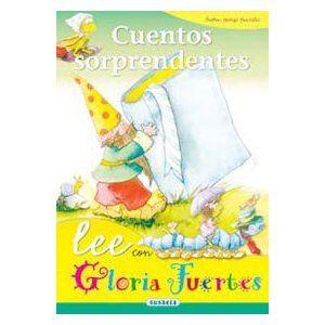 """""""Cuentos sorprendentes"""" es un libro de la colección """"Lee con Gloria Fuertes"""" de la Editorial Susaeta.    Es un libro de cuentos cortitos en..."""