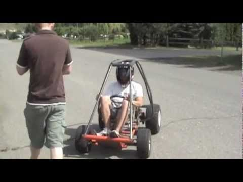 Go-Kart Rollover (Roll-Cage Test) ▶ I want a full roll cage to see if I can build a kart meant just for rolling 'The Tumbler'