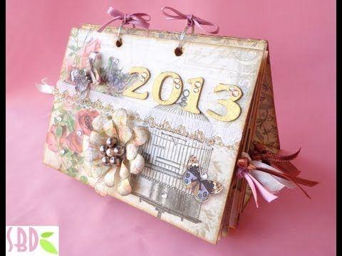 Sweet Bio design: Calendario da tavolo shabby 2016 - 2016 shabby desktop calendar
