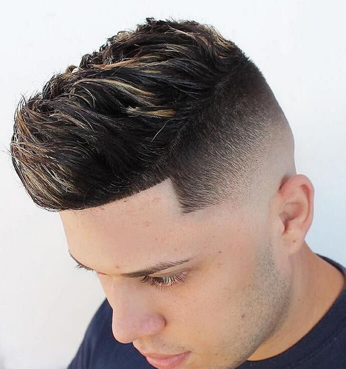 An Undercut Plus Scattered Grey Highlights Curly Hair Pictures Curly Hair Men Curly Hair Styles