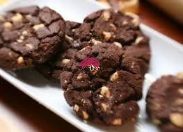 Biscotti cacao e mandorle