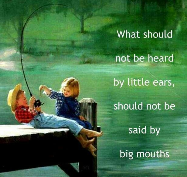 Keep adult matters/opinions to yourself! Your kids dont need to know everything you think about the other parent!