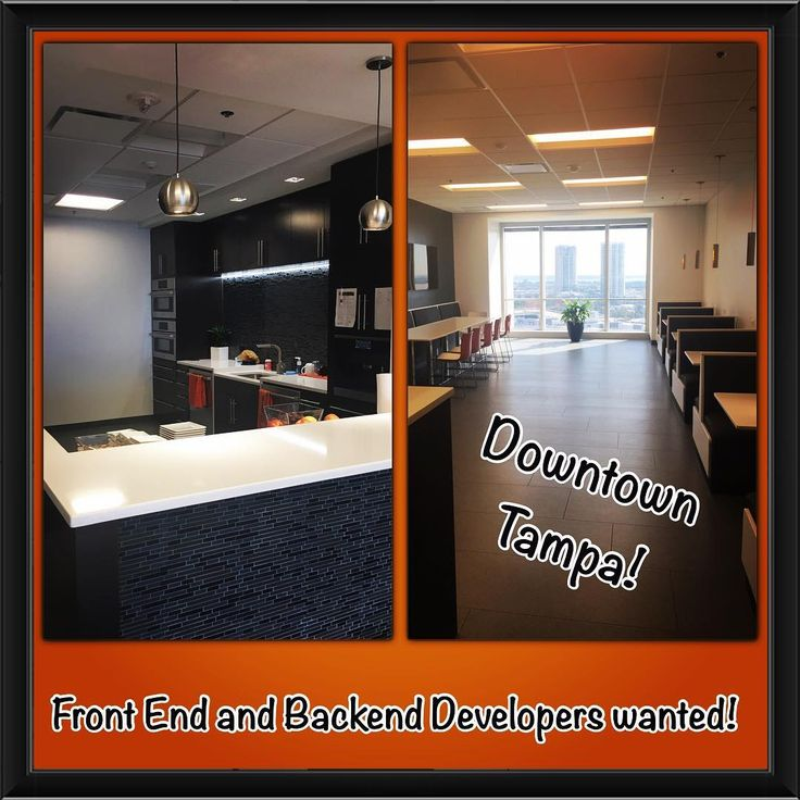 Tampa Bay is offering so many amazing new opportunities for developers these days. Here's an example of one of my clients in #downtowntampa - 15th floor with an amazing office environment. Check out their break room! Which happens to be stocked at all times for the employees. Looking for #frontenddeveloper and #backenddeveloper #asp.net #csharp #mvc #api #angular #javascript #agile #unlimitedpto #excellentbenefits #tampajobs #Technology #developer message me and connect to apply or email me…