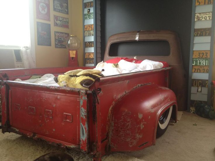 ford tailgate foot board & headboard bed - Google Search