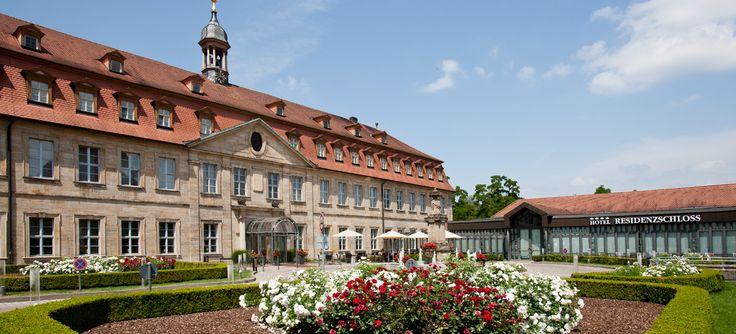 Welcome Hotel Residenzschloss Bamberg #romantik #hochzeitslocation #wedding #location #garten #kapelle #barock #stilvoll #harmonisch #schloss #sommerhochzeit #evenlocation #businesslocation #firmenevent #tagung #seminar #workshop #eventlocation #eventinc