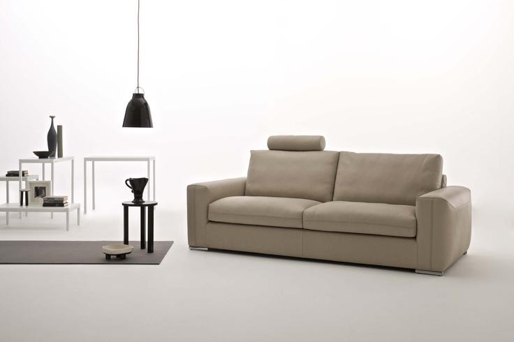 divano design in pelle Charles - Tino Mariani http://www.tinomariani.it/prodotti/charles.html