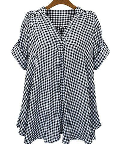 GET $50 NOW | Join RoseGal: Get YOUR $50 NOW!http://m.rosegal.com/plus-size-tops/casual-stand-up-collar-short-162148.html?seid=7073021rg162148