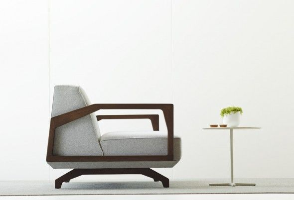 Bomba sofa – A touch of American Oak to add warmth to the space it resides.