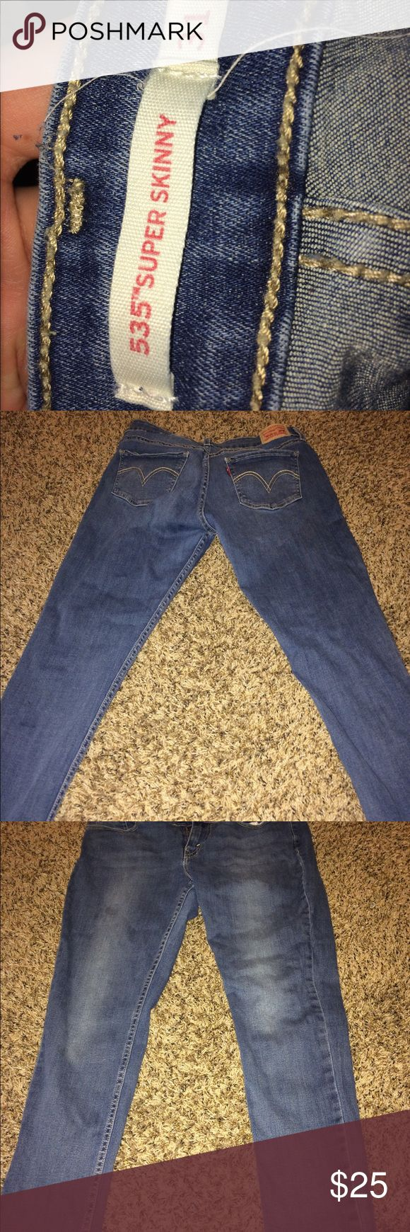 Levi jeans It's good condition but tight levis Jeans Skinny