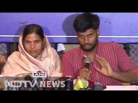Did Smriti Irani lie? What Rohith Vemula's family says