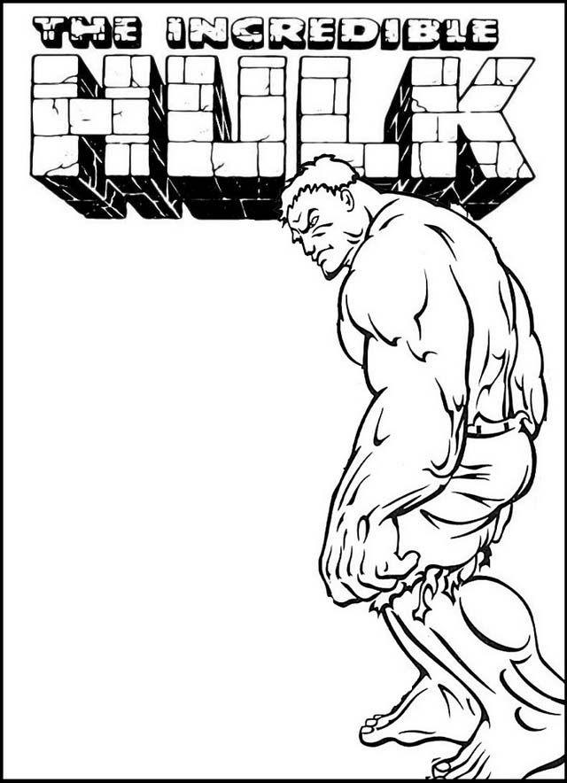 Pin Oleh Pengadaan Indonesia Di Hulk Coloring Pages For Marvel Fans