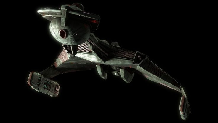"""A Klingon starship in concept art for the fan film """"Star Trek: Prelude to Axanar."""" [Read the Full Story and Watch a Video]"""