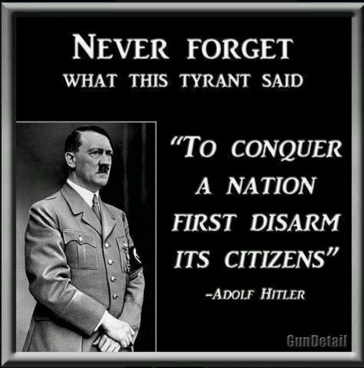 Gun control--- This is why it's not really about the gun,, it's about who is saying you can't have one and why.