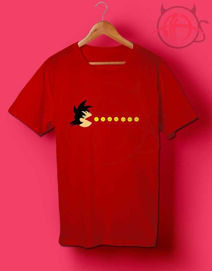 Pac Ball Z Goku T Shirt