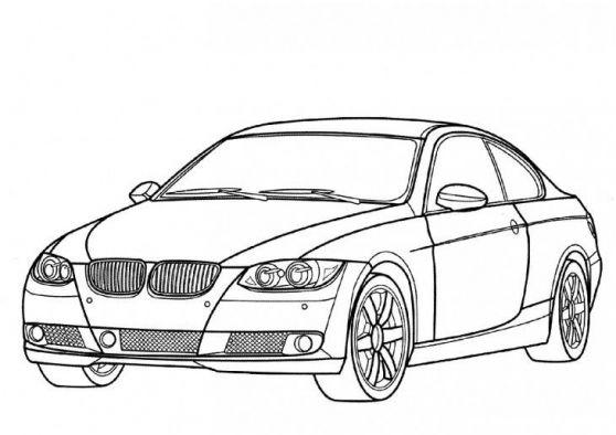 coloriage voiture bmw a imprimer et colorier #sportcars # ...