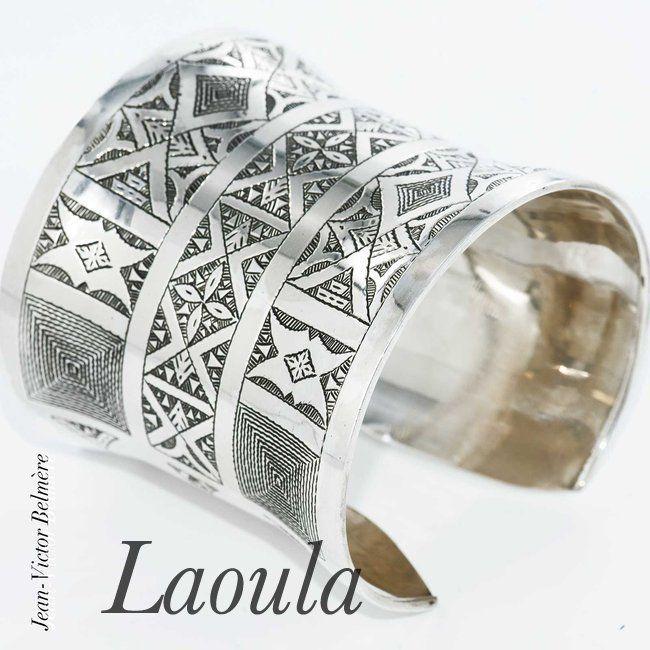 Bijoux ethniques, bracelet argent Ayatania 242058
