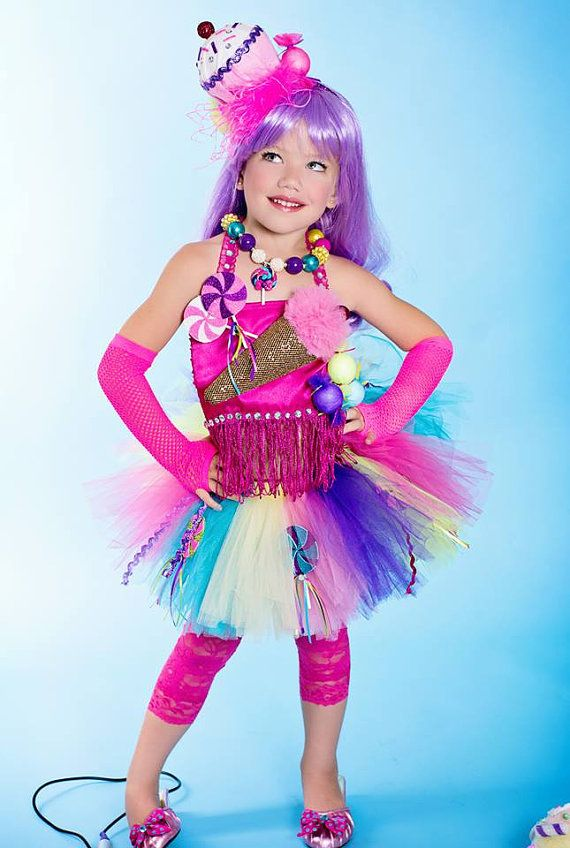 Candyland Dress Up | Candyland/Katie Perry inspired tutu set with headband.....Fabulous ...