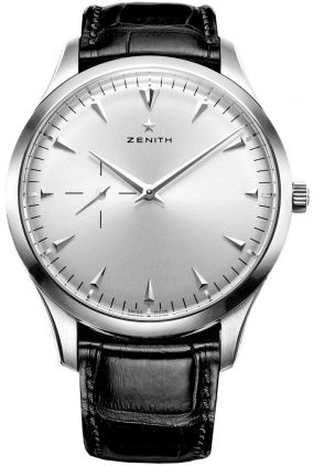 This is a Zenith that fails--the sheen of the face ruined by the second graticule at the left. It's as if you had breast pockets added to your tuxedo shirts.  Zenith watch