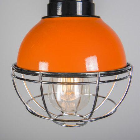 Lampa wisząca Harbor pomarańczowa