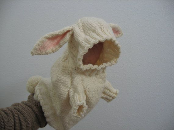 A hooded dog sweater with decorative bunny ears and by birdinanest, $75.00