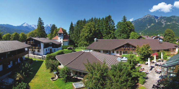 Aussenbereich | H+ Hotel Alpina Garmisch-Partenkirchen