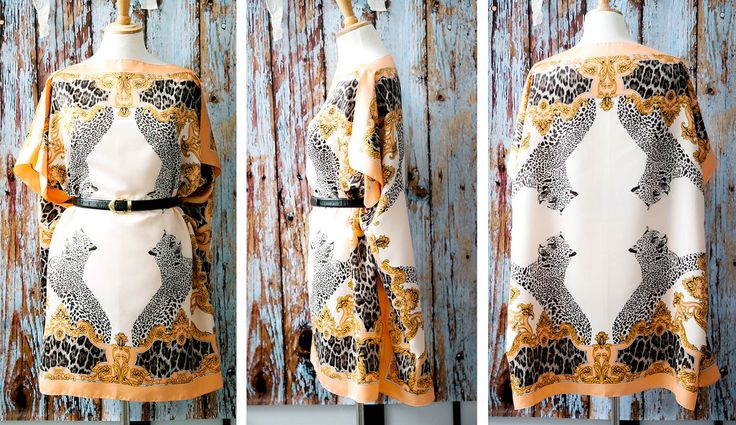 Wild Lynx scarf dress DIY_the product (12)