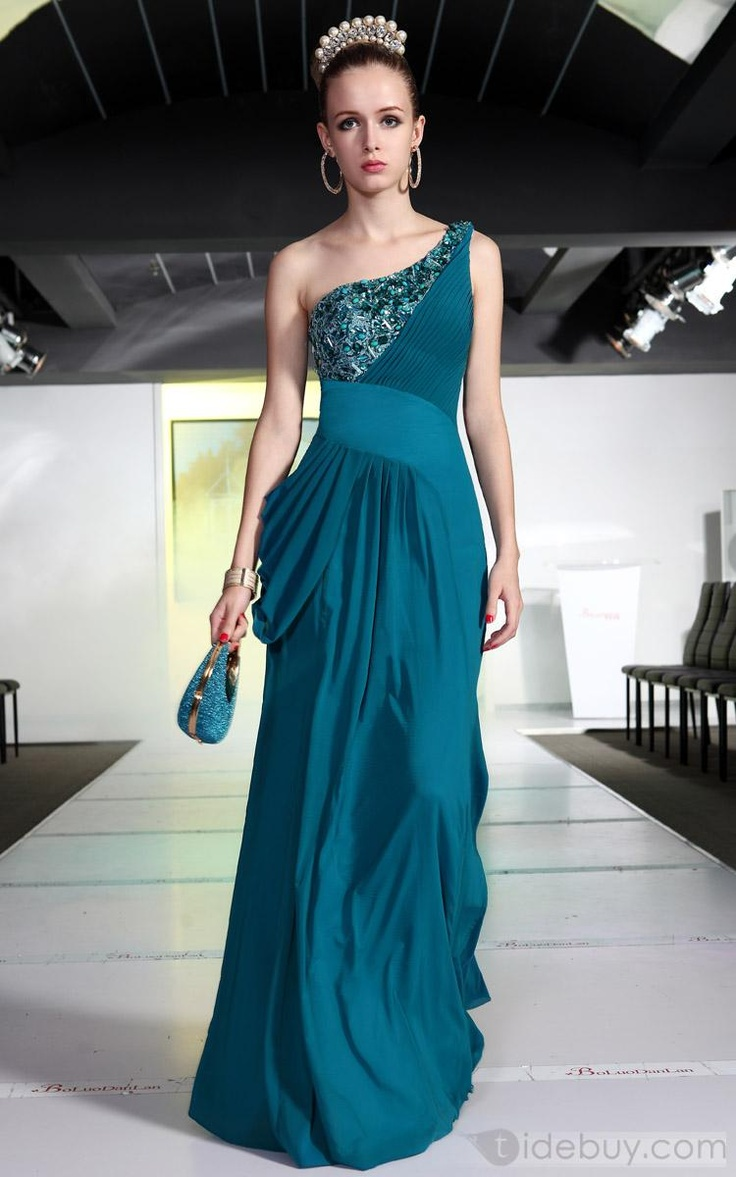 85 best Evening Dress images on Pinterest | Beautiful gowns, Bright ...
